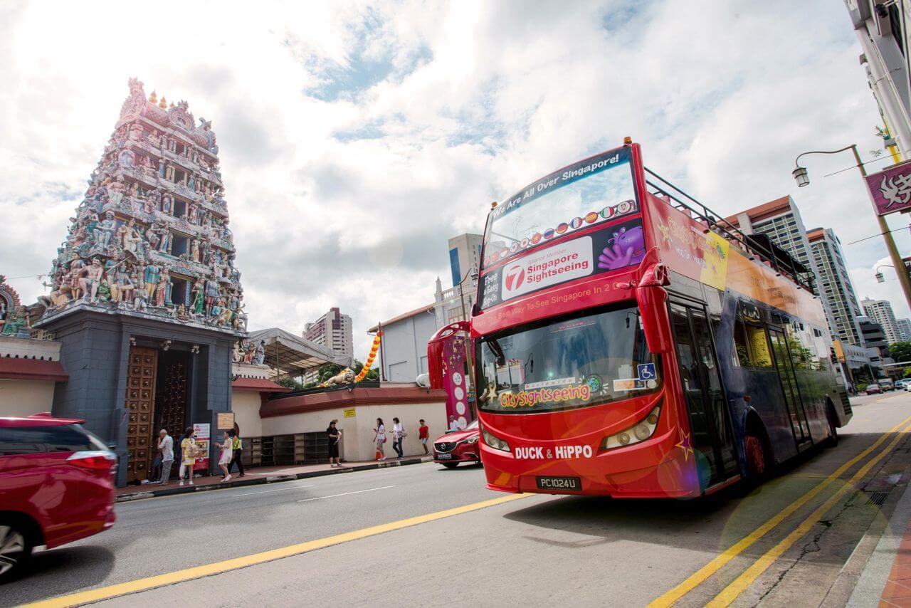 Singapore Hop-On, Hop-Off Bus Tour