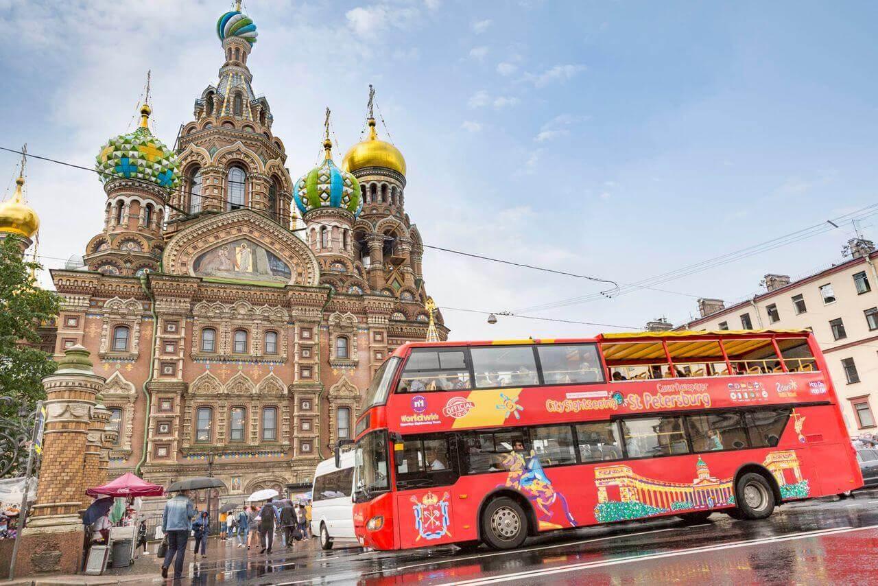 St. Petersburg Hop-On, Hop-Off Bus Tour