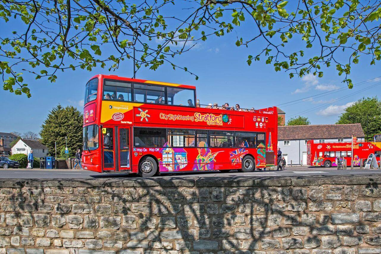 Stratford-upon-Avon Hop-On, Hop-Off Bus Tour