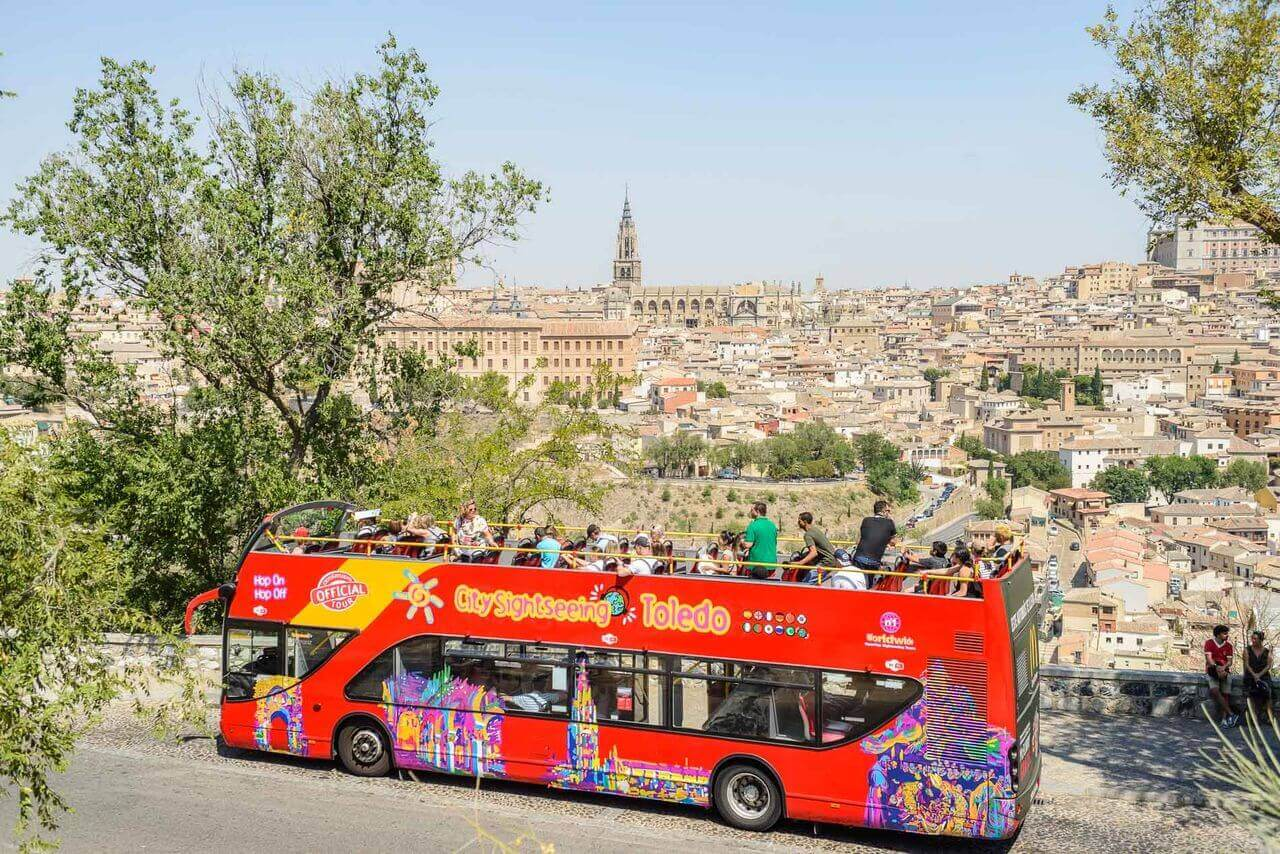 Toledo Hop-On, Hop-Off Bus Tou