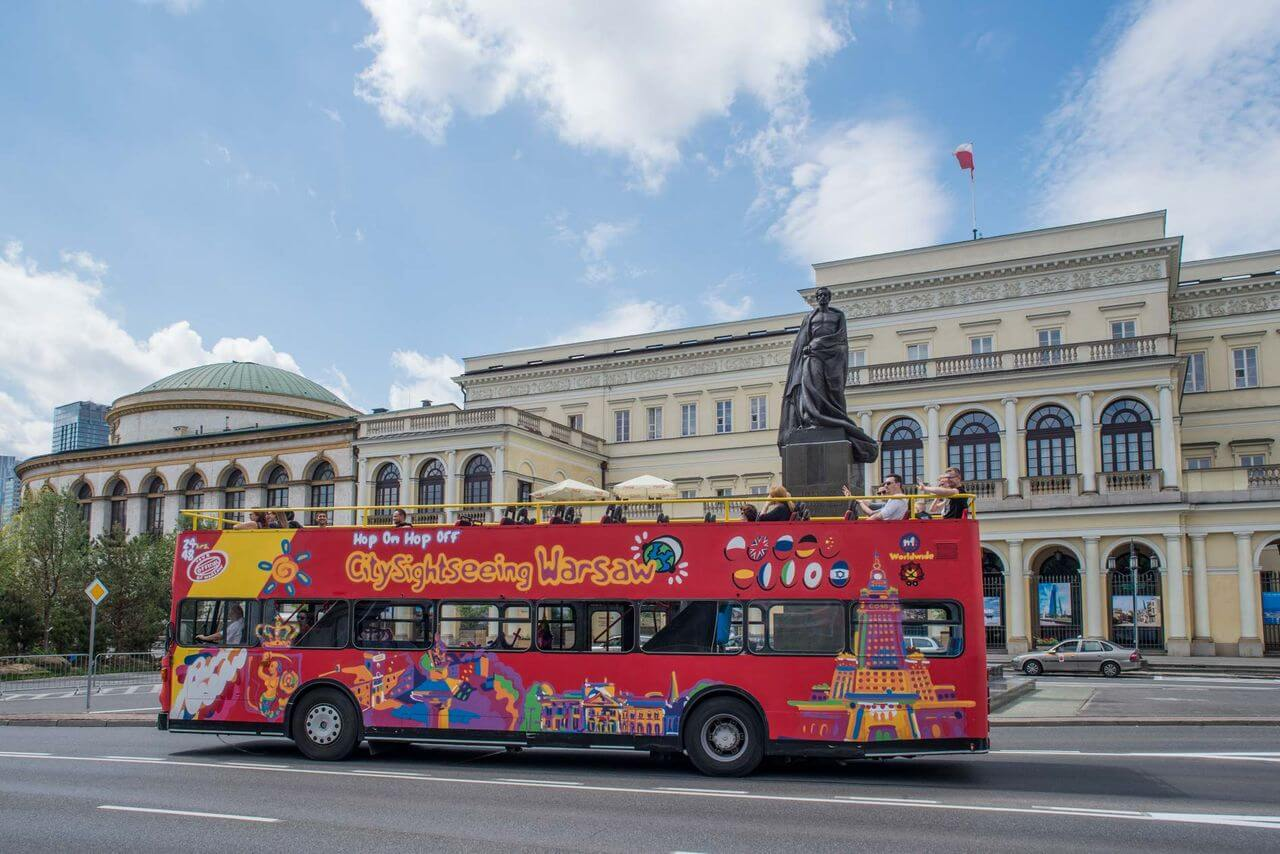 Warsaw Hop-on, Hop-off Bus Tour