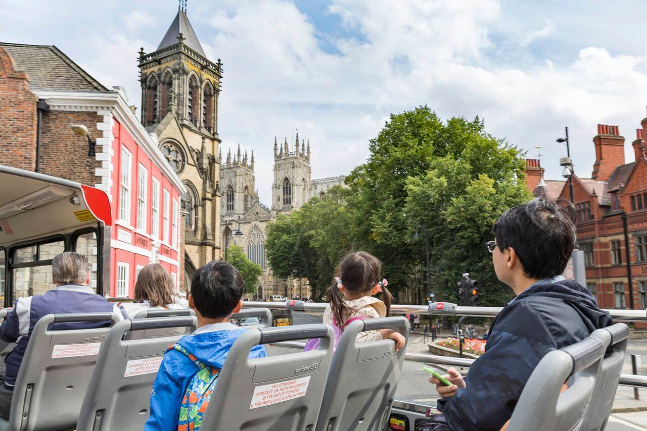 York Hop-On, Hop-Off Bus Tour