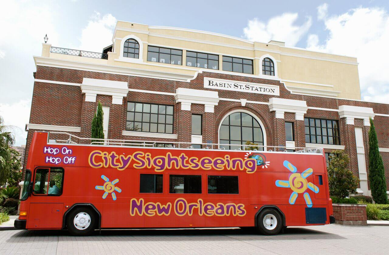 New Orleans Hop-On, Hop-Off Bus Tour