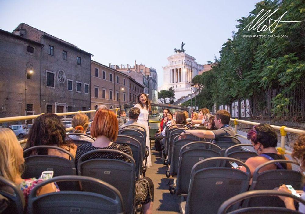 Rome Hop-on, Hop-off Bus Tour